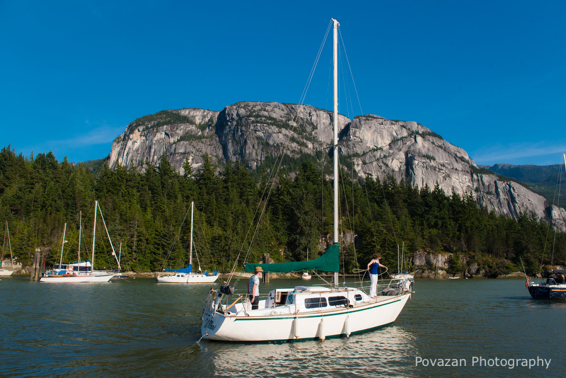 Squamish sailing engagement-Vancouver wedding photographer