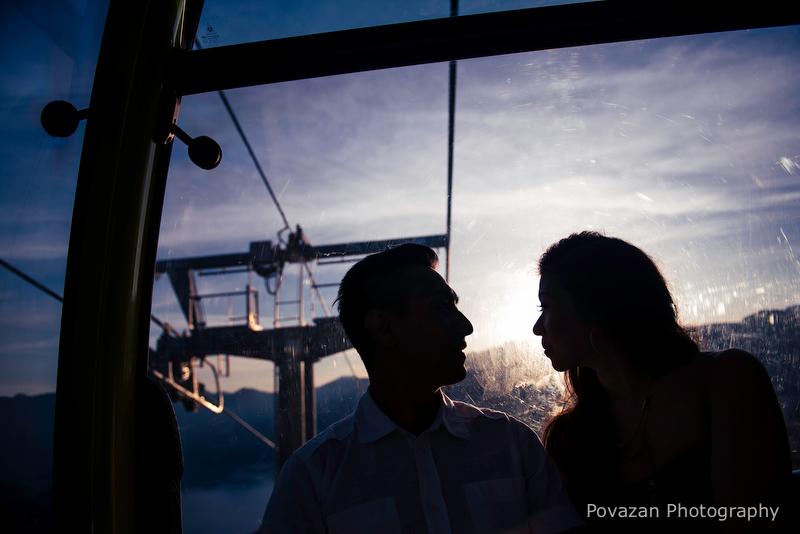 Sea to sky gondola cabin view