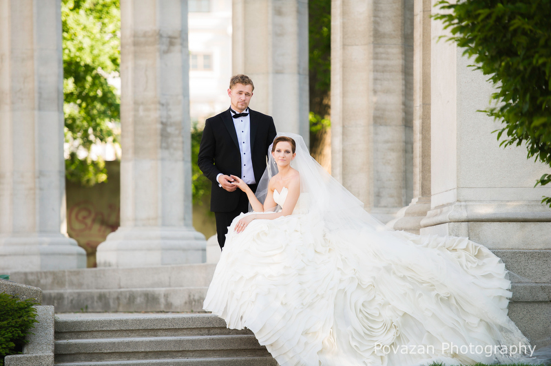 Vienna wedding portrait session
