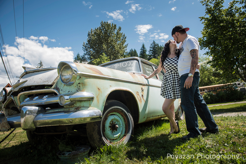 Cultus Lake engagement