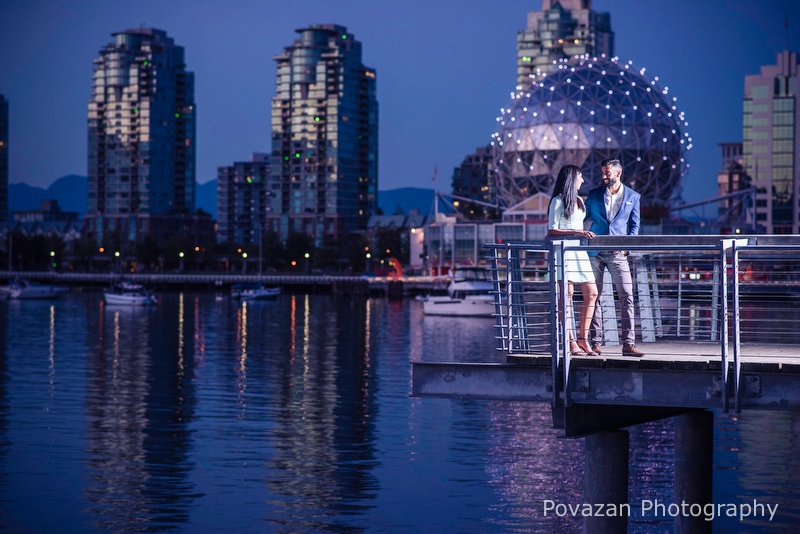 Science world False creek engagement