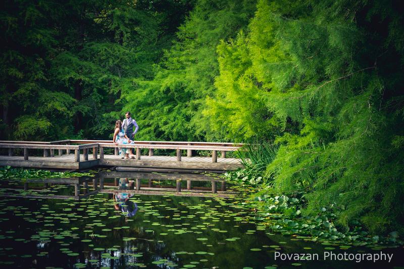 Granville Island Van Dusen Gardens Engagement