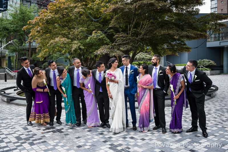 Sheraton Wall Centre hotel wedding in Vancouver