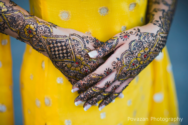 Mehndi Indian Henna wedding ceremony