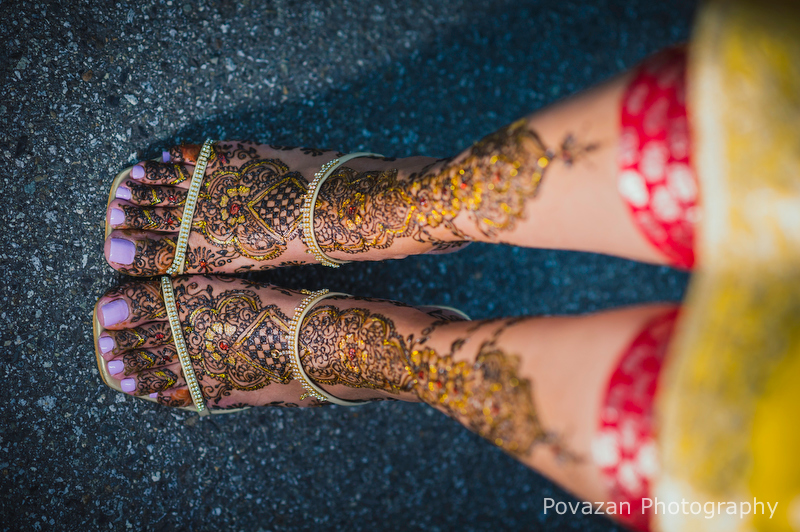 Mehndi Indian Henna wedding ceremony