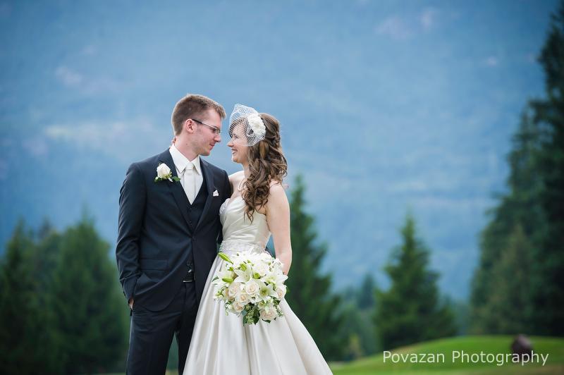 Squamish Valley Golf Club wedding