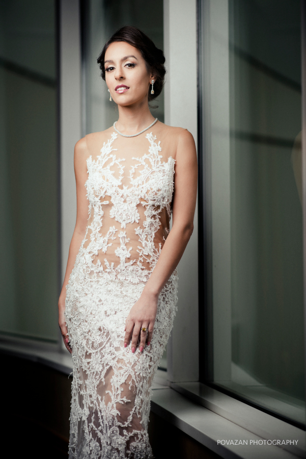 Pan Pacific Hotel wedding bridal editorial session