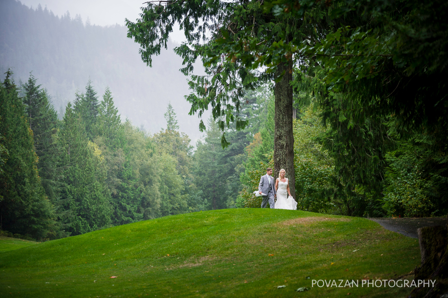 Furry Creek Wedding during crazy Vancouver storm