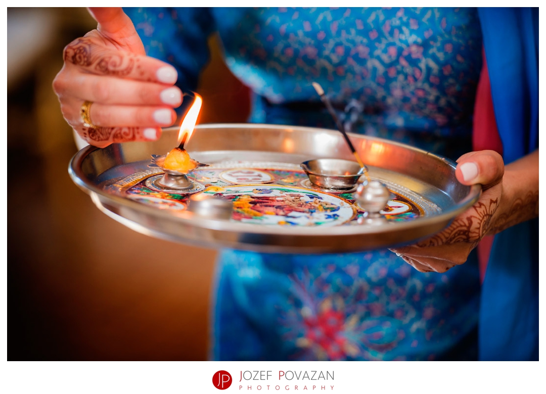 kelowna wedding photographers Indian poojan ceremony