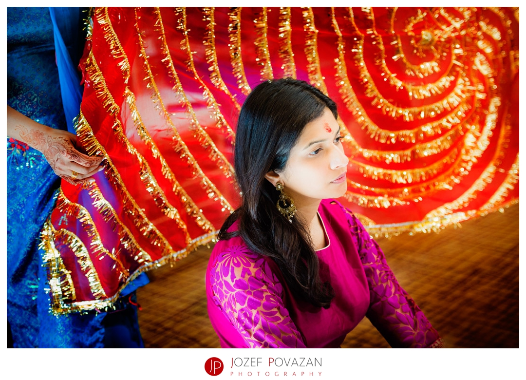 kelowna wedding photographer Indian poojan ceremony