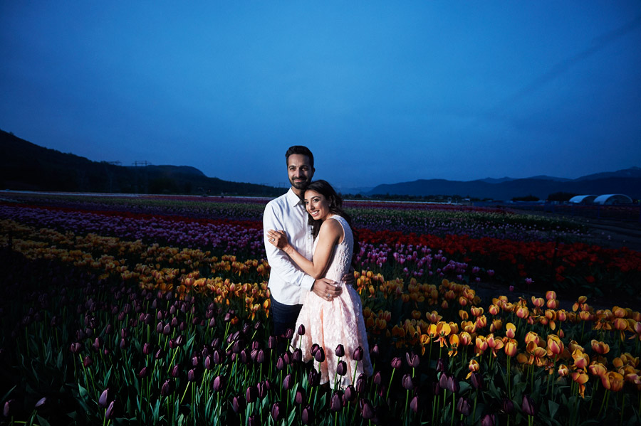 Abbotsford bloom tulip festival engagement
